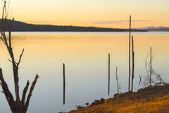 Lake Wivenhoe in Queensland during the day Royalty Free Stock Photos