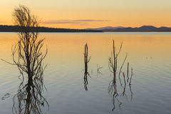 Lake Wivenhoe in Queensland during the day Royalty Free Stock Photo