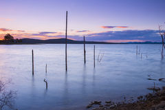 Lake Wivenhoe in Queensland during the day Stock Photo