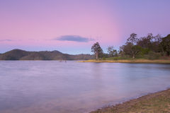 Lake Wivenhoe in Queensland during the day Stock Image