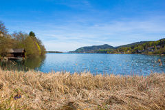 Lake Woerth View From Beach Maria Woerth Stock Photos