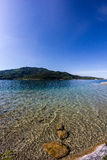 Lake Woerth View From Beach Poertschach Royalty Free Stock Photography