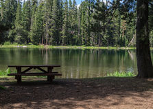 Lake of the Woods, California Royalty Free Stock Photos