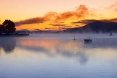 Lake Worth at sunrise Royalty Free Stock Images