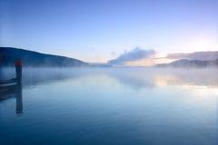 Lake Worth at sunrise Stock Photo