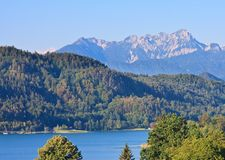 Lake Worthersee. Austria Royalty Free Stock Photos