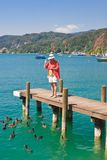 Lake Worthersee. Austria Royalty Free Stock Images