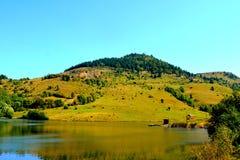 """Lake """"Taul Mare"""" in  Rosia Montana, Apuseni Mountains, Transylvania Stock Photo"""
