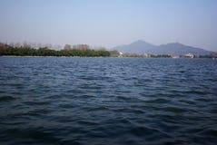 lake xuan wu Royaltyfri Bild
