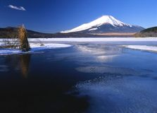 Lake Yamanaka Royalty Free Stock Images