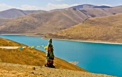 Lake Yamdrok Stock Images