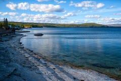 lake yellowstone Royaltyfri Foto