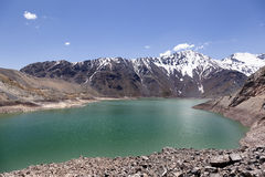 Lake of Yeso Royalty Free Stock Photography