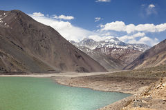 Lake of Yeso Stock Image
