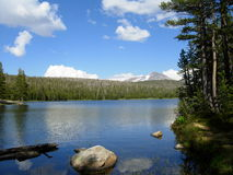 Lake in Yosemite. This is a beautiful photo of a lake in Yosemite National Park stock image