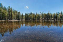 Lake in Yosemite Royalty Free Stock Photos
