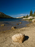 Lake Yosemite Park Stone Stock Photos