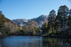 Lake at Yufuin Stock Photography