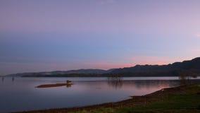 Lake  in yunnan.read lake Royalty Free Stock Photography