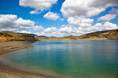 Lake of Zahara, Spain Stock Photos