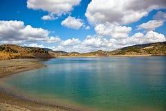 Lake of Zahara, Spain Stock Photos