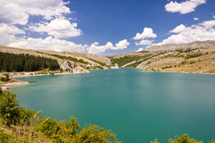 Lake on Zalomska river - Bosnia and Herzegovina Stock Image