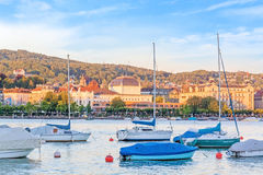 Lake Zuerich, Switzerland Royalty Free Stock Photography