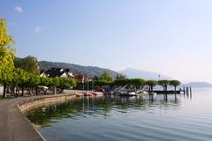 Lake Zug Royalty Free Stock Photos