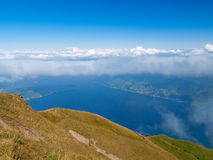 Lake Zug. From the mount  Rigi Royalty Free Stock Images