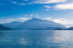 Lake Zug in Switzerland Royalty Free Stock Image