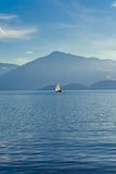 Lake Zug in Switzerland Royalty Free Stock Photo
