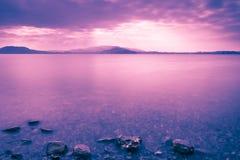 Lake Zug in Switzerland. Royalty Free Stock Images