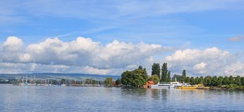 Lake Zug Royalty Free Stock Photography