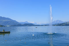 Lake Zug Stock Photo