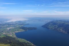 Lake Zugersee Stock Image