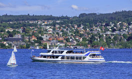 Lake Zurich Royalty Free Stock Photography