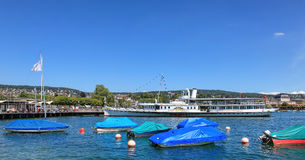 Lake Zurich In Summer Royalty Free Stock Photos