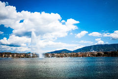 Lake Zurich is a lake in Switzerland, extending southeast of the Royalty Free Stock Images