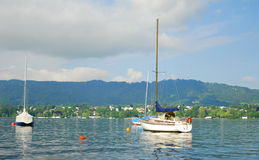 Lake Zurich. Switzerland. stock photography