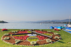 Lake Zurich. Zurich, Switzerland - July 26, 2012: Lake Zurich  is a lake in Switzerland, extending southeast of the city of Zurich Royalty Free Stock Photography