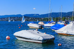 Lake Zurich in Switzerland Stock Photography