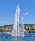 Lake Zurich. In Switzerland in summertime Royalty Free Stock Image