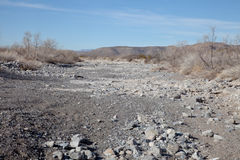 Lakebed sec Images stock