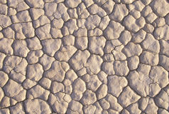 Lakebed sec, Death Valley, la Californie Photos libres de droits