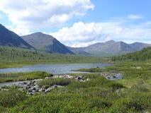 lakeberg Royaltyfria Bilder