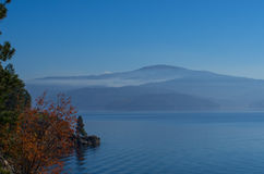 Lakefog fotografie stock libere da diritti