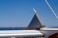 Lakefront calatrava Stock Photography