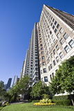 Lakefront Chicago Apartment Building royalty free stock photos