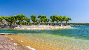 Lakefront Konstanz, Γερμανία, baden-Wurttemberg Στοκ εικόνες με δικαίωμα ελεύθερης χρήσης