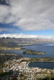 Lakefront from Queenstown Stock Photo